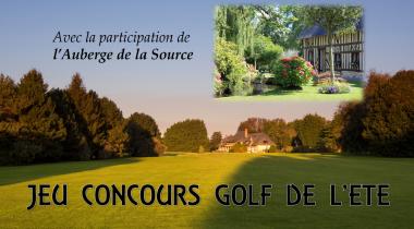 Jeu concours Golf de l'été