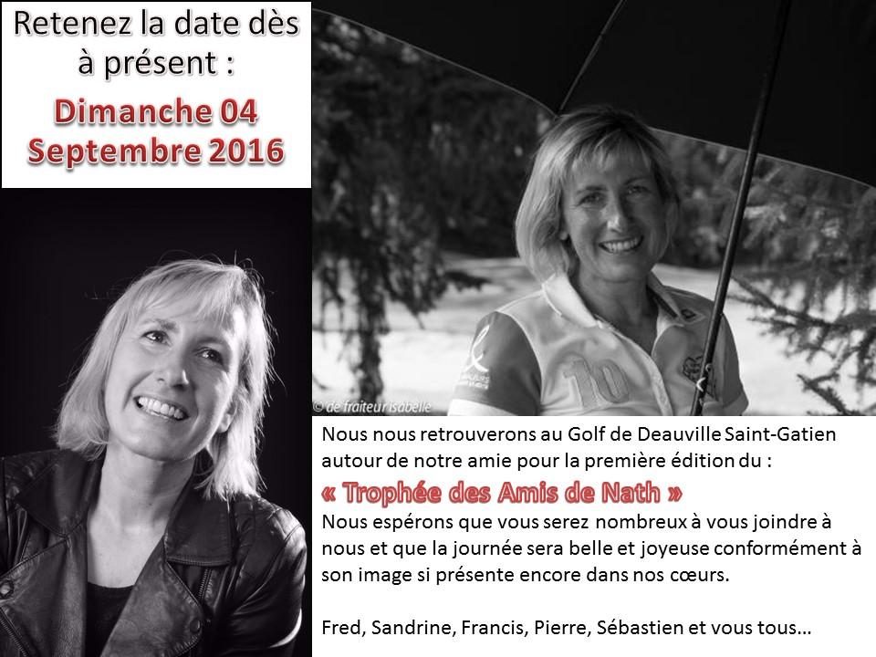 Invitation Trophée des Amis de Nath